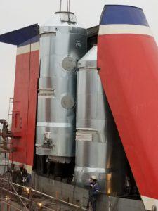 CROE® Marine Scrubber installation