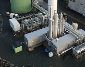 biogas liquefaction plant