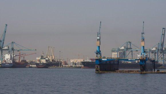 Shuwaikh port, Kuwait
